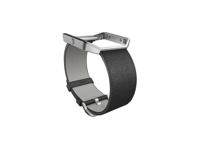 Каишки Fitbit Blaze Accessory Band Leather Black