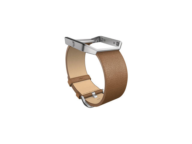 Каишки Fitbit Blaze Accessory Band Tapered Leather Camel