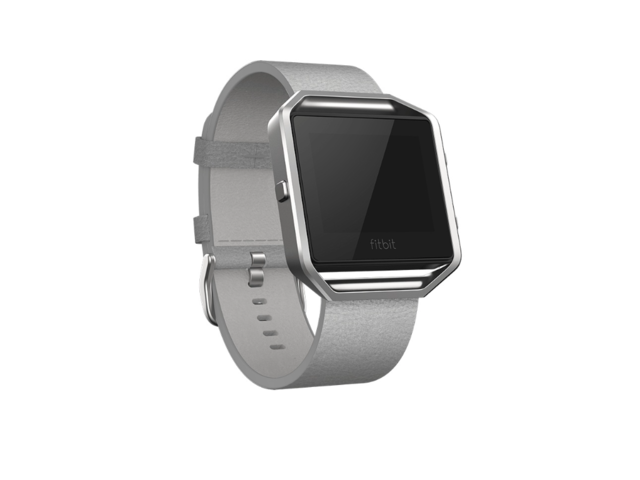 Смарт часовници Fitbit Blaze Leather Band Gray, Large