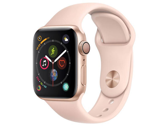 Смарт часовници Apple Watch Series 4 40mm Pink Sand Sport Band
