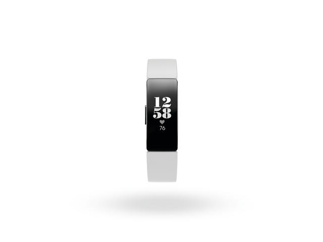 Гривни Fitbit Inspire HR - White/Black
