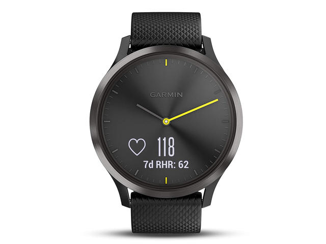 Смарт часовници Garmin vivomove HR Black размер М