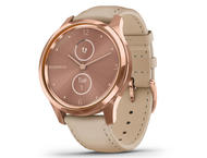 Смарт часовници Garmin Vivomove Luxe 18K Rose Gold/ Light Sand