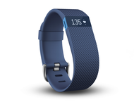 Гривни Fitbit Charge HR, в синьо